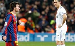 Ronaldo bị ám ảnh tới mức khổ sở vì Messi
