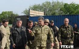 Binh sỹ Ukraine tuần hành kêu gọi hủy bỏ lệnh ngừng bắn