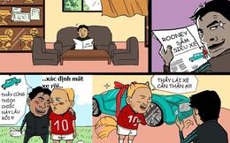 Rooney sắm siêu xe biếu huấn luyện viên