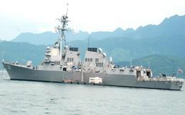 Những tàu hải quân Mỹ từng đến thăm Việt Nam