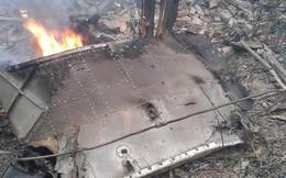 Chùm ảnh: Hiện trường vụ rơi máy bay trực thăng ở Hòa Lạc