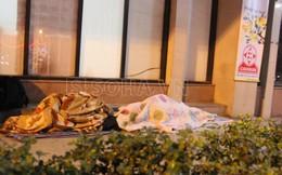 Cám cảnh cuộc sống người vô gia cư ở Hà Nội