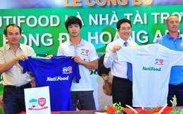 Nutifood tài trợ 15 tỉ đồng cho Hoàng Anh Gia Lai
