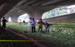 Hà Nội: Phát hiện xác chết bí ẩn dưới hố nước ở gầm cầu