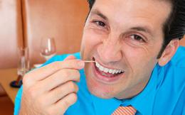 Thói quen xỉa răng: Nguy hiểm hơn bạn thường nghĩ