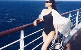 Ảnh bikini gợi cảm của Á hậu Diễm Trang tại châu Âu