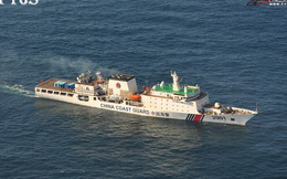 Trung Quốc đưa tàu hải cảnh lớn nhất thế giới ra biển