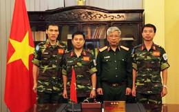 3 sĩ quan Việt Nam sắp đi làm nhiệm vụ gìn giữ hòa bình tại Trung Phi