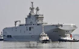 """Trả tiền Nga xong, Pháp nói tàu Mistral đang """"đắt khách"""""""