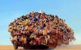 """Chùm ảnh: Những chuyến xe quá tải """"không thể tin nổi"""" trên toàn thế giới"""