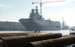 Pháp đã gửi các thiết bị tháo dỡ từ tàu Mistral tới Nga
