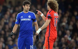 David Luiz và nghệ thuật khiêu khích trước Diego Costa