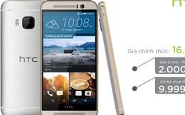 Cơ hội mua HTC One M9 chỉ 9,999,000 đồng tại Lazada.vn
