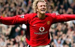 12 năm, nhớ siêu phẩm cuối của David Beckham cho Man United