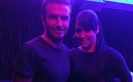 """Người đẹp sexy lộ ảnh """"thân mật"""" với Beckham"""