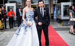 Người đẹp Hoa hậu lộng lẫy sánh đôi cùng Trần Bảo Sơn
