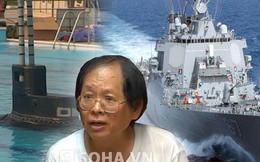 """Gặp người VN làm """"tàu ngầm tàng hình, tốc độ hơn tàu khu trục"""""""