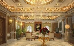 Mục sở thị nội thất xa hoa của căn biệt thự dát vàng 300 tỷ