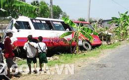 20 hành khách hoảng loạn khi xe khách bất ngờ nổ lốp