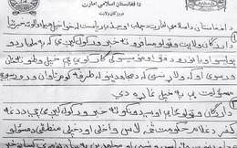 Nở rộ việc mua giấy đe dọa giả mạo của Taliban để tới châu Âu