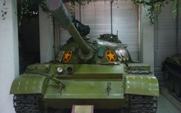 Những dấu vết đặc biệt trên xe tăng 390