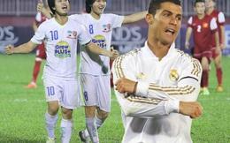 Ronaldo cũng phải ghen tị với thú chơi này của Công Phượng