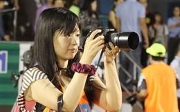 """Nữ phóng viên Nhật Bản """"săn"""" cầu thủ trẻ Việt cho J-League?"""