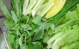 Ăn rau sống thế nào cho đúng để không hại sức khỏe?