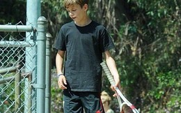 Quý tử nhà Beckham sở hữu tài năng tennis thiên phú