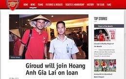 Sốc! Arsenal cho HAGL mượn Olivier Giroud mùa Hè này