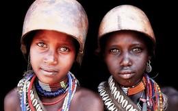 [Photo] Hạnh phúc đích thực trên khuôn mặt những thổ dân châu Phi
