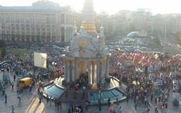 """Ukraine """"căng"""" như dây đàn: Kiev và Donetsk đều biểu tình"""