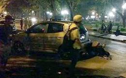 Hà Nội: Gây tai nạn liên hoàn vì… cãi nhau với vợ