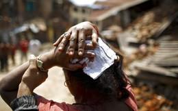 Chùm ảnh trận động đất mới hoảng loạn Nepal