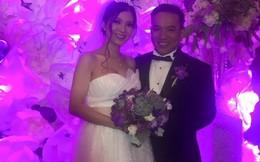 Phạm Thanh Thảo bất ngờ tổ chức đám cưới với bạn trai tại Mỹ