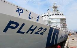 Tàu Cảnh sát biển Nhật Bản JCGS YASHIMA cập cảng Đà Nẵng