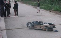Mới cưới một ngày, cô gái đã ngã xe máy tử vong