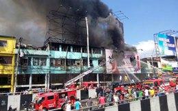 Cháy lớn ở thủ đô Philippines khiến ngàn người 'màn trời chiếu đất'
