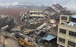 Cảnh sát đột kích công ty liên quan vụ lở đất ở Trung Quốc