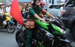 """Cô gái 9X """"con nhà nòi"""" chơi xe khủng tại Sài Gòn"""