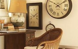 Sai lầm phong thủy khi treo đồng hồ có thể chặn đứng tiền tài, công danh của gia đình