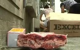Kinh hoàng thịt thối 40 năm tràn lan trên đường phố Trung Quốc