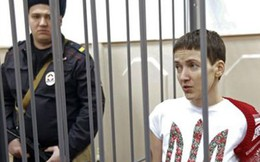 Nga không phóng thích nữ phi công Ukraine đang tuyệt thực