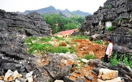 Thấy nhiều dấu tích, hiện vật cổ, quý tại vùng đệm thành nhà Hồ