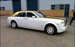 Rolls-Royce Phantom dát 120 kg vàng chống đạn của đại gia vùng Vịnh