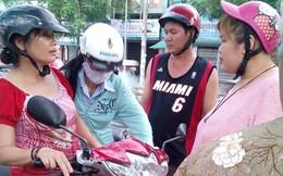Bị tai nạn, người phụ nữ không chịu đi cấp cứu vì sợ mất xe