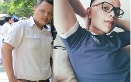"""Nam sinh Việt lột xác thần kỳ và có bạn gái nhờ """"hô biến"""" 115kg xuống còn 65kg"""