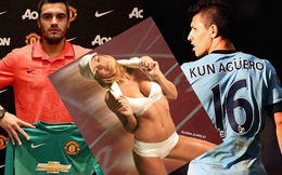 Sự thật scandal Aguero ngủ với vợ sao Man United