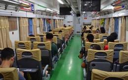 Cận cảnh tàu hỏa HN – Lạng Sơn sang như khách sạn