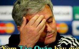 Ảnh chế: Đến Mourinho cũng buồn vì Táo quân